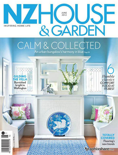Design Spec Interior Design in the media 2012 NZ House & Garden Magazine